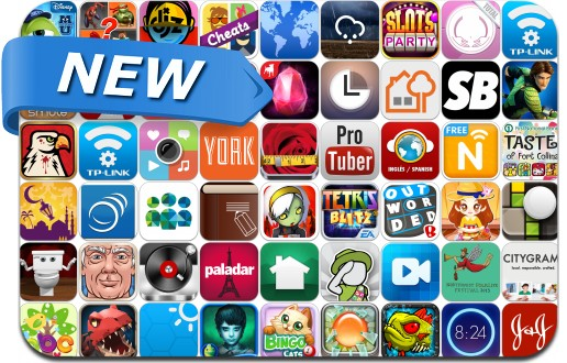 Newly Released iPhone & iPad Apps - May 24