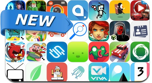 Newly Released iPhone & iPad Apps - June 12, 2015