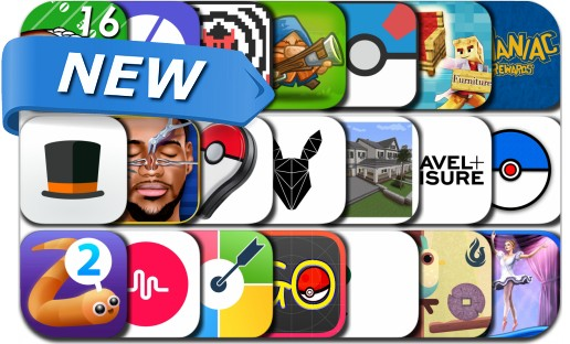 Newly Released iPhone & iPad Apps - July 12, 2016
