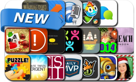 Newly Released iPhone & iPad Apps - December 22