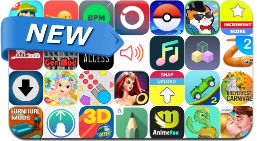 Newly Released iPhone & iPad Apps - July 7, 2016