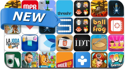 Newly Released iPhone & iPad Apps - August 21