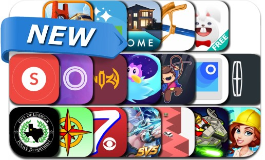 Newly Released iPhone & iPad Apps - November 16, 2016