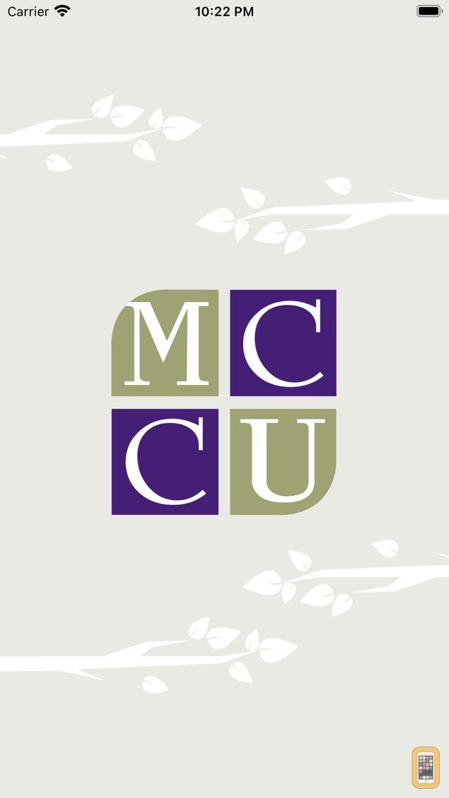 Screenshot - MCCU Mobile Banking