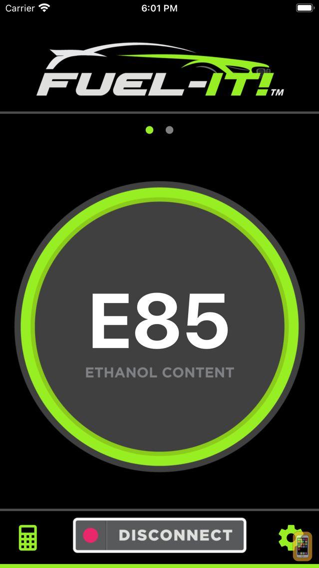 Screenshot - Fuel-It Ethanol Content