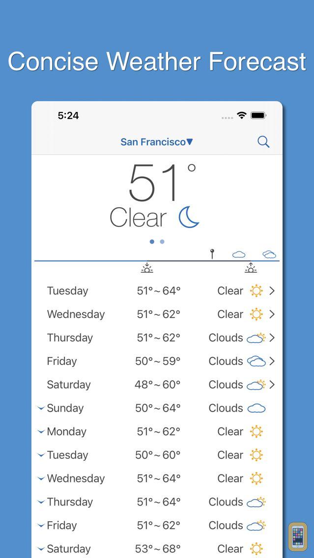Screenshot - PP Weather & Rain Alert