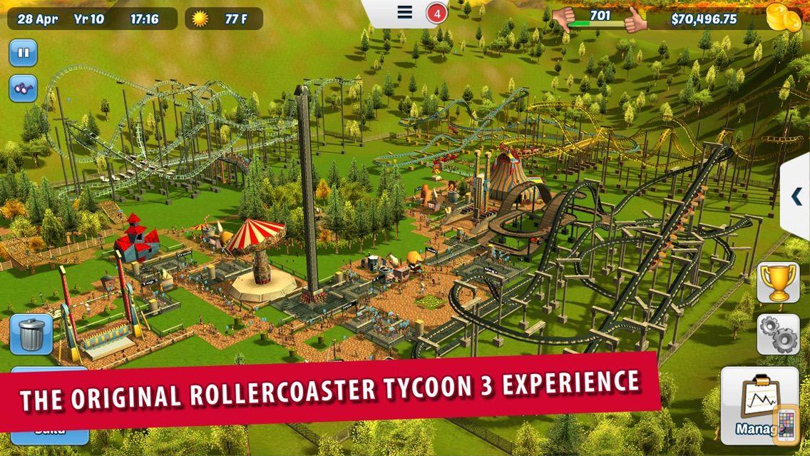 Screenshot - RollerCoaster Tycoon® 3