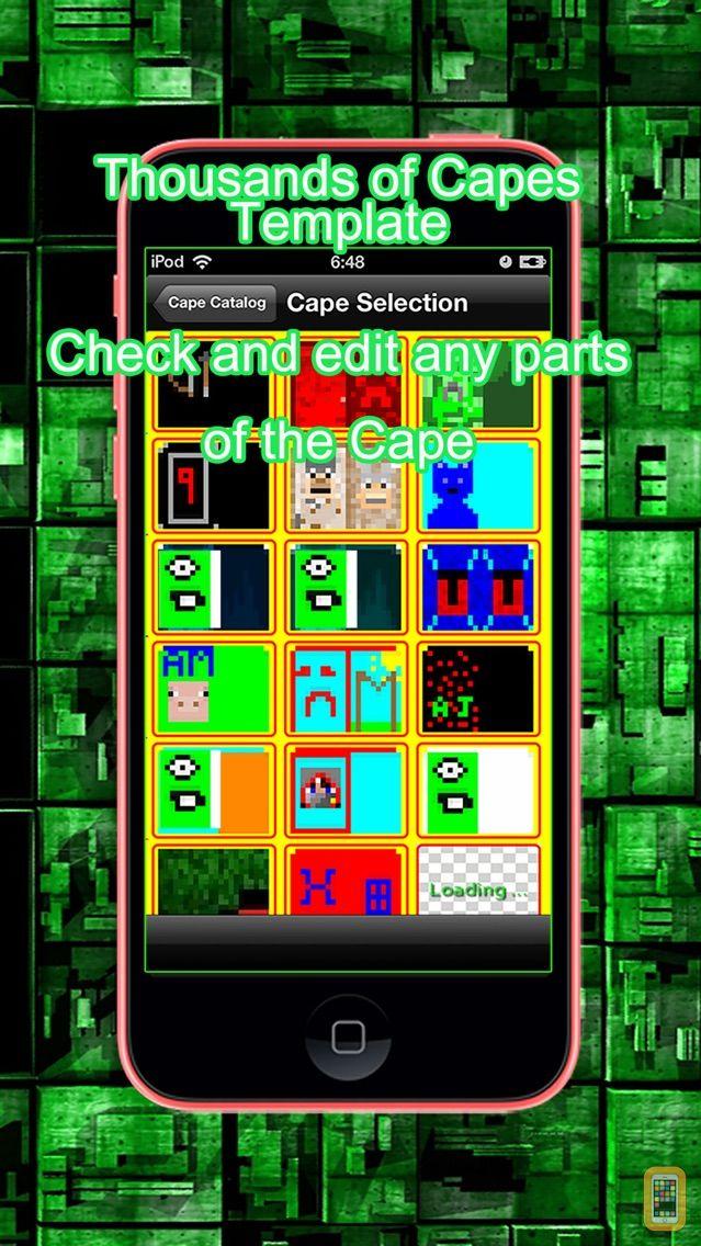 Screenshot - Cape for Minecraft