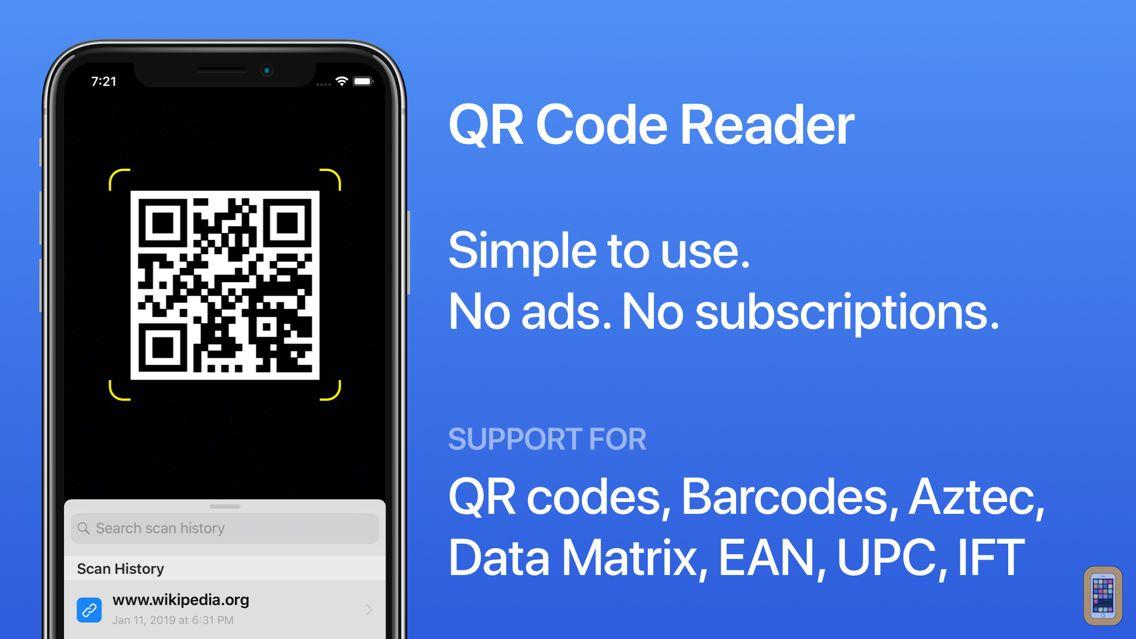 Screenshot - QR Code Reader for iOS