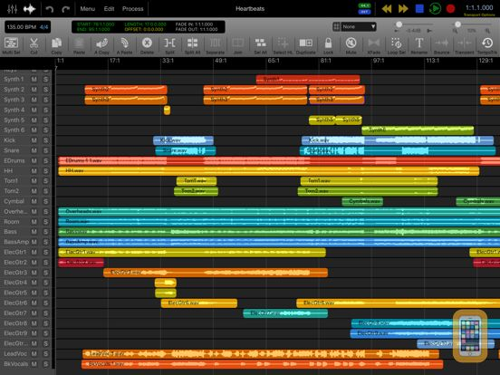 Screenshot - Auria Pro - Music Production
