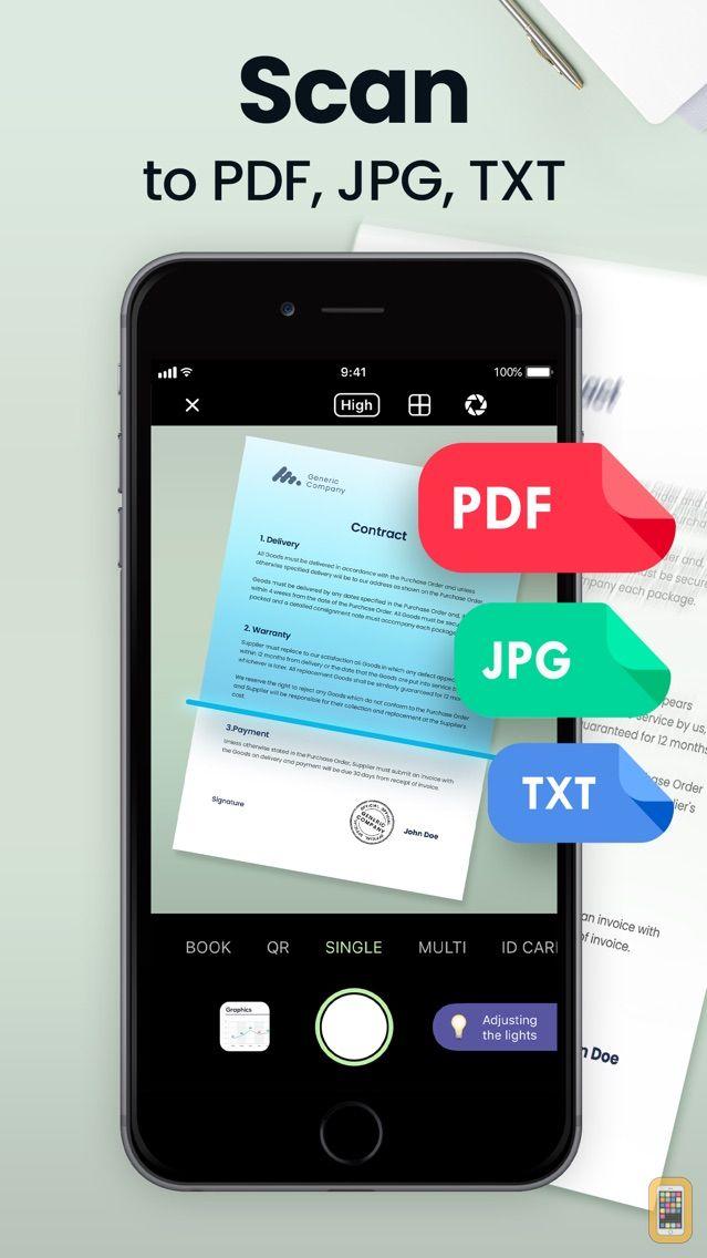 Screenshot - Scan Hero: PDF Scanner App
