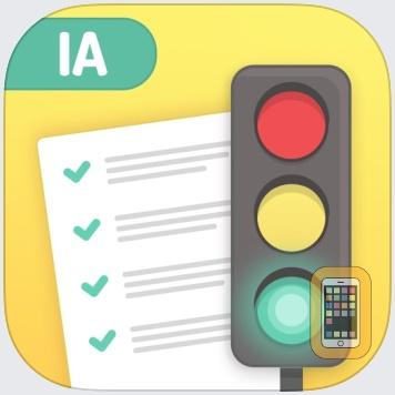 Iowa DMV Driver License Test - prepare for the Iowa state driving knowledge test by Driver-Start.Com (Universal)