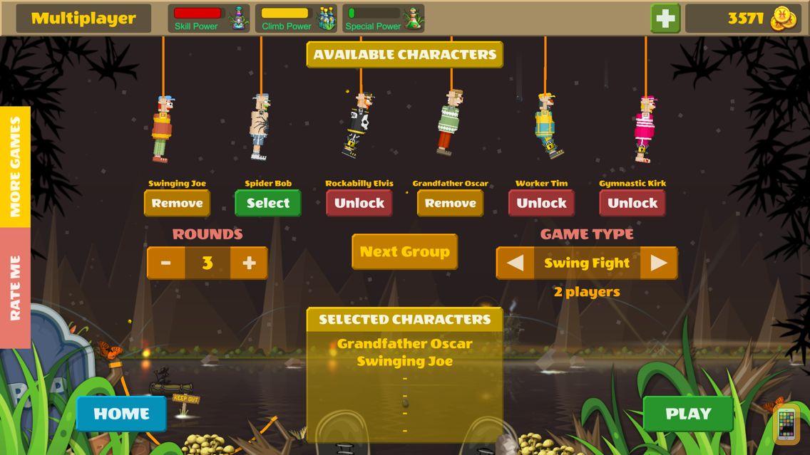 Screenshot - Rope Heroes : Hole Runner Game