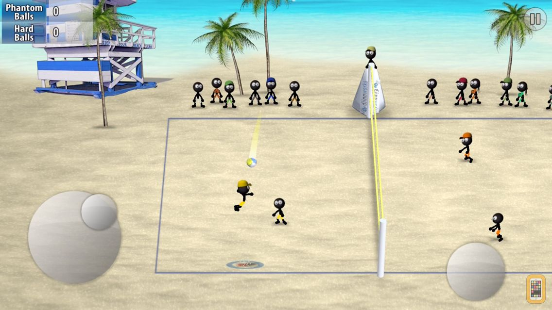 Screenshot - Stickman Volleyball