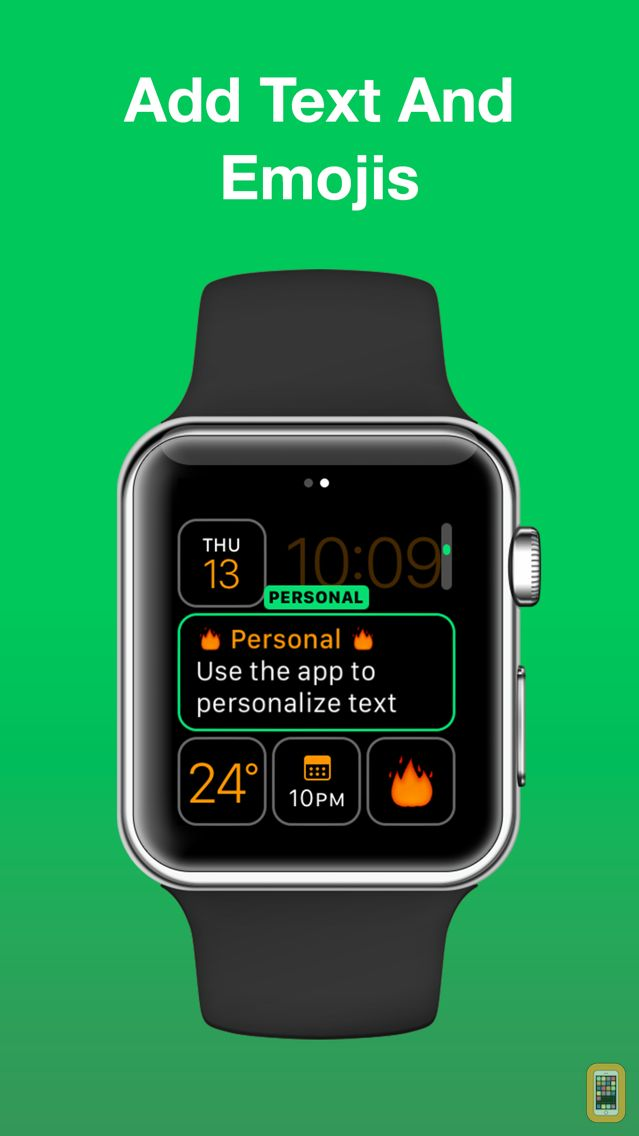 Screenshot - Personal - Emoji, Note & Reminders for Watch Faces