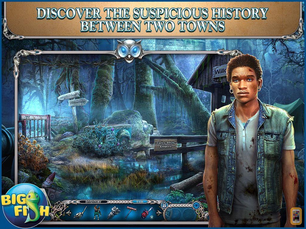 Screenshot - Mystery Trackers: Nightsville Horror HD - A Hidden Object Adventure (Full)