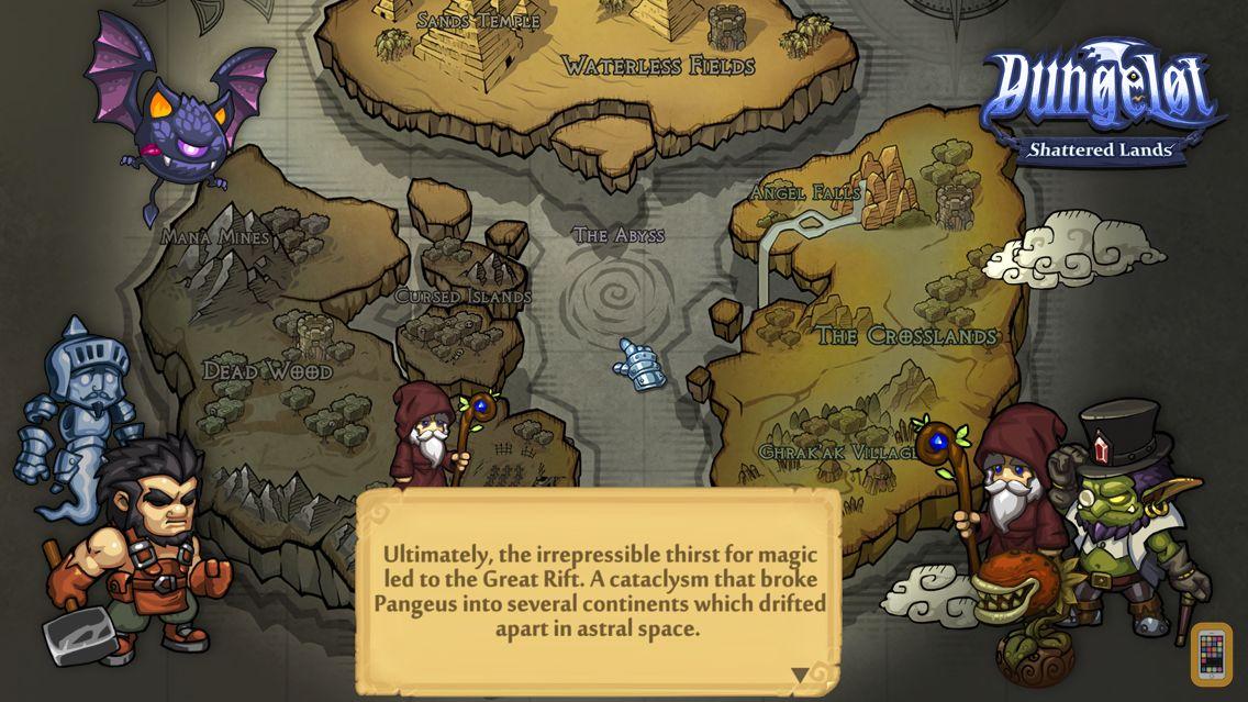 Screenshot - Dungelot: Shattered Lands