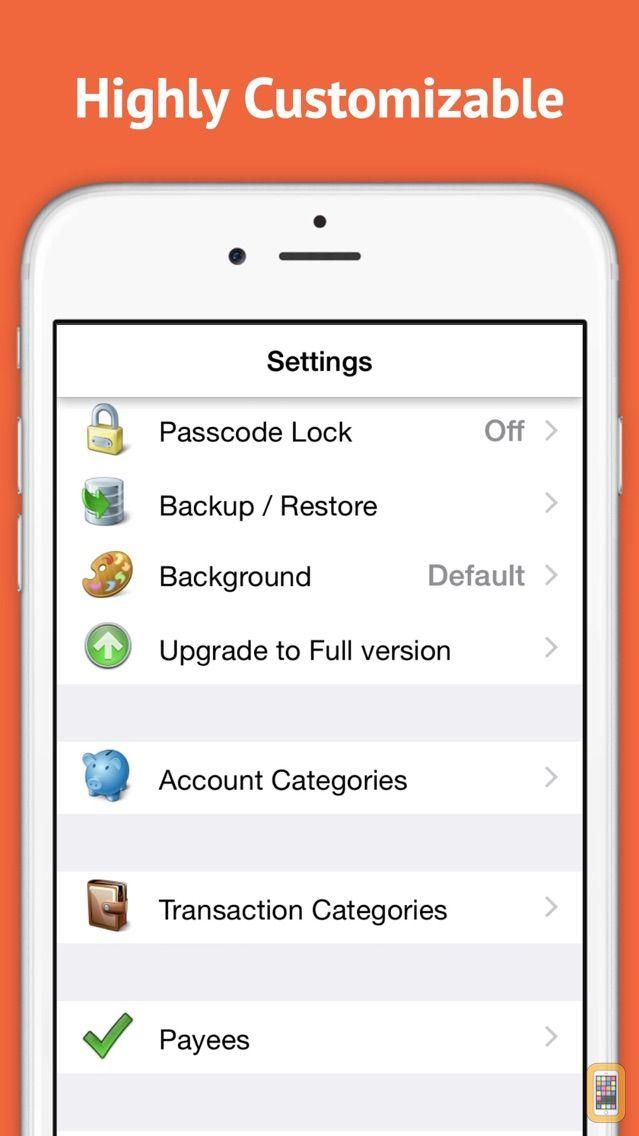 Screenshot - Checkbook Ledger