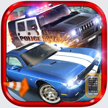Police Chase Traffic Race Real Crime Fighting Road Racing Game by Aidem Media (Universal)