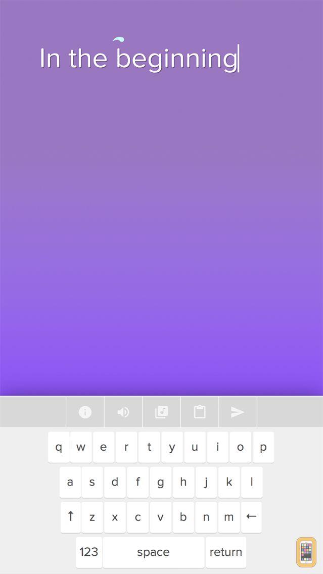 Screenshot - Typatone