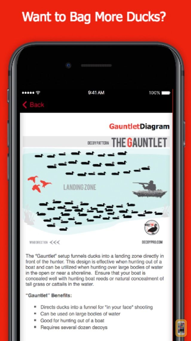 Screenshot - Duck Hunting Spreads & Diagrams - Duck Hunting App