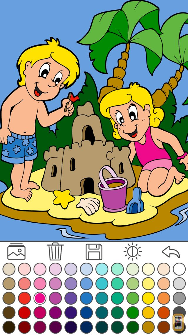 Screenshot - Coloring for kids (Book 1)