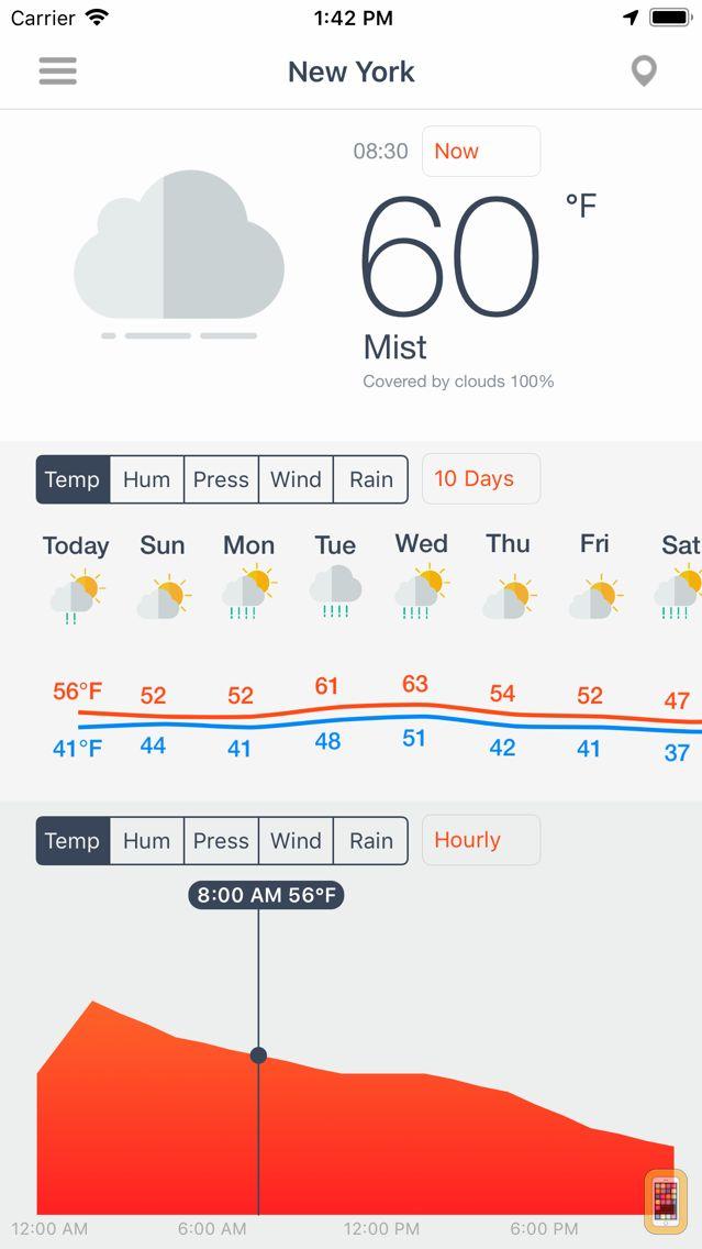 Screenshot - Weather Force