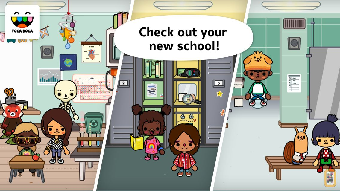Screenshot - Toca Life: School