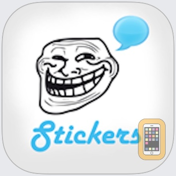 Funny Rages Faces - Stickers + by Nadejda Toma (Universal)