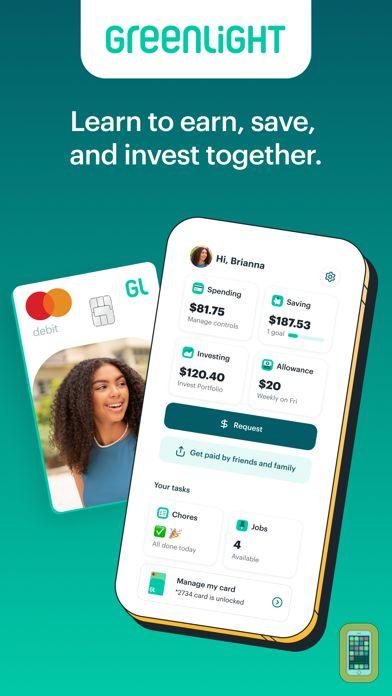 Screenshot - Greenlight Debit Card for Kids