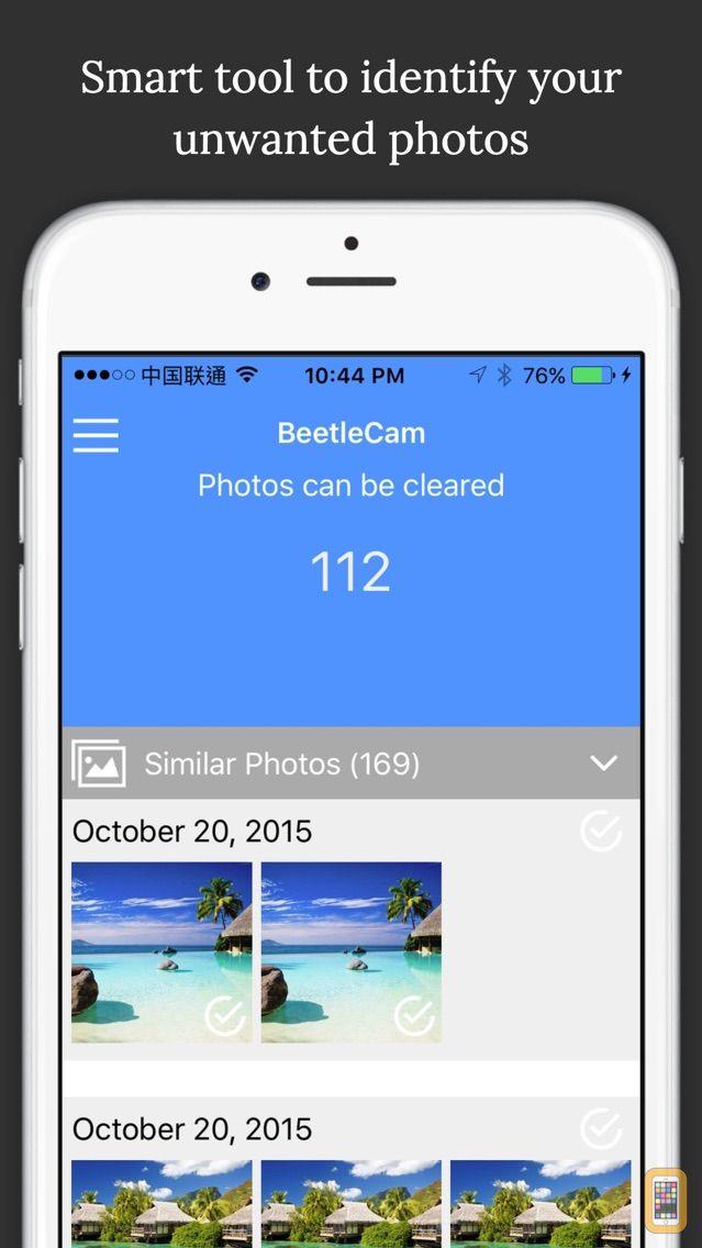 Screenshot - BeetleCam Gallery Cleaner - Duplicate Photos Fixer & Similar Photo Cleanup