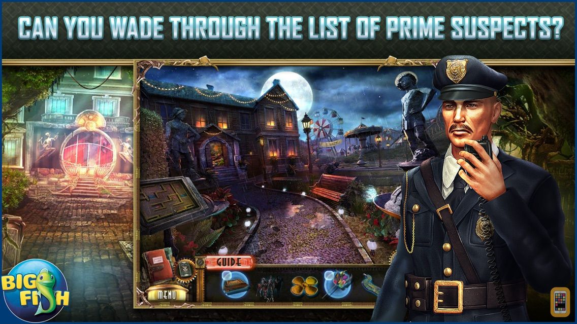 Screenshot - Dead Reckoning: Brassfield Manor - A Mystery Hidden Object Game  (Full)