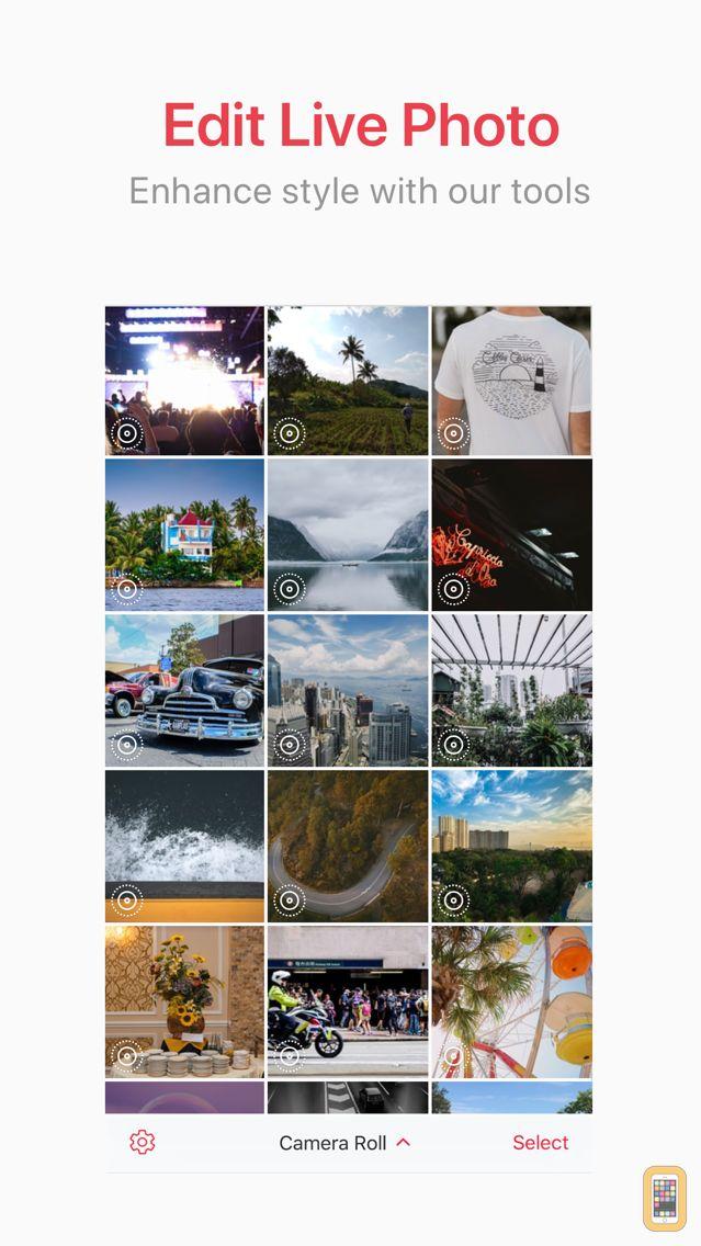 Screenshot - LivePix – Live Photos to Video