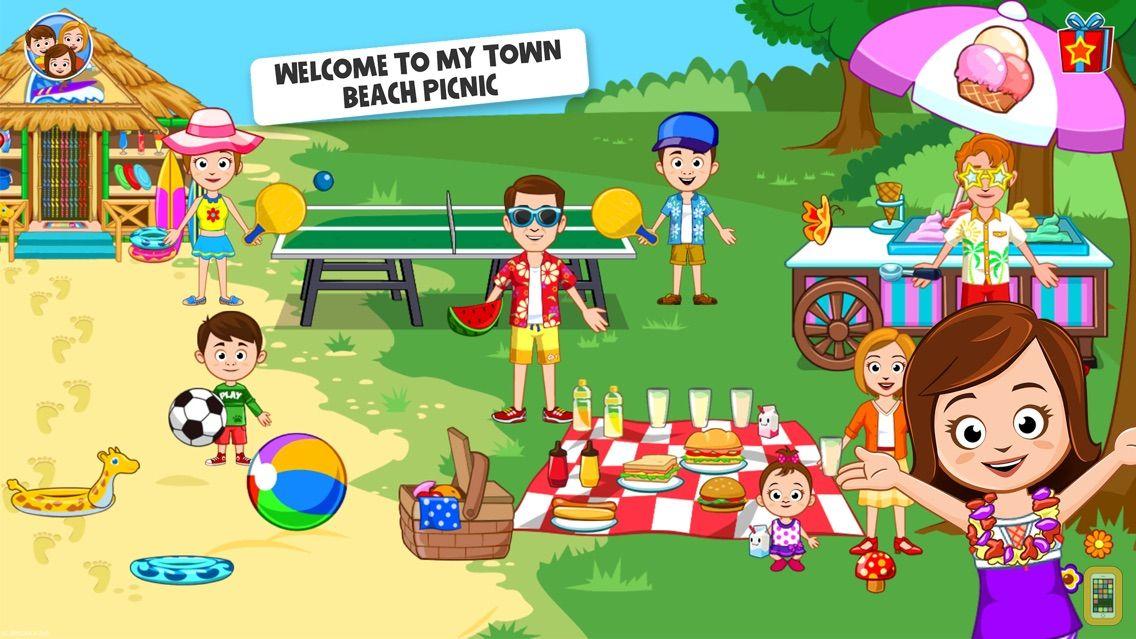 Screenshot - My Town : Beach Picnic