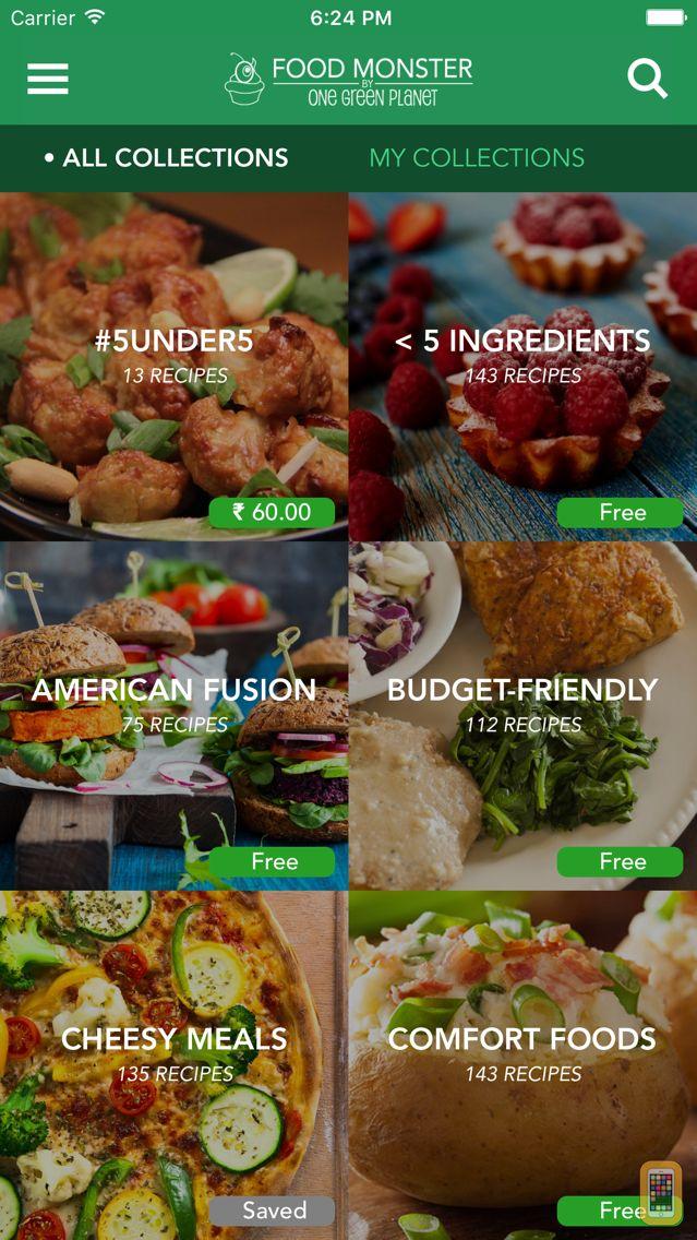 Screenshot - Food Monster - Vegan Recipes