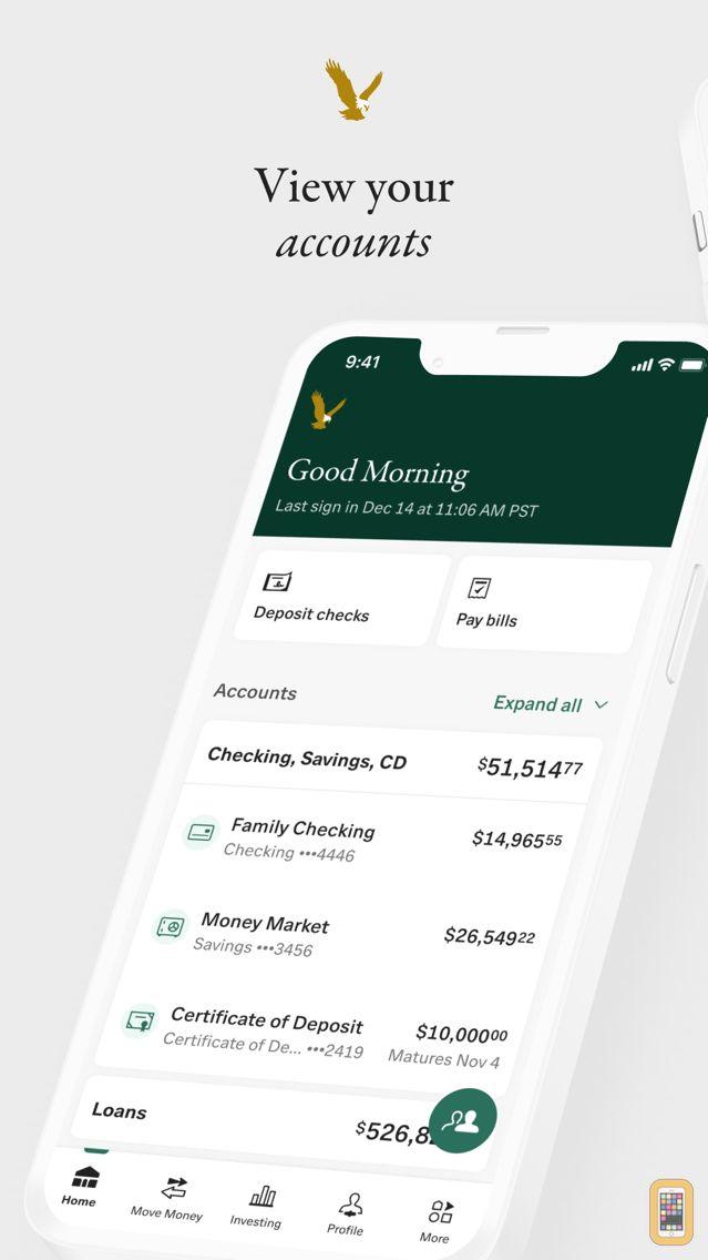 Screenshot - First Republic Mobile