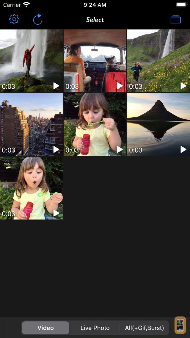 Screenshot - Live 2 Photos