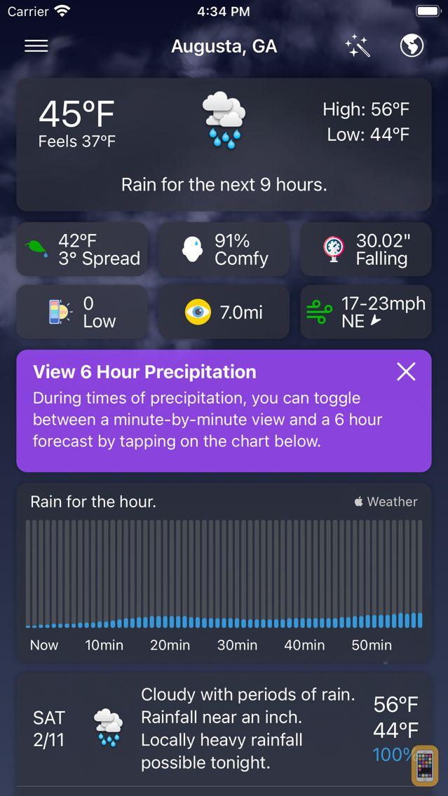 Screenshot - Forecast Bar