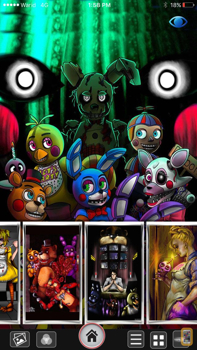 Screenshot - 2016 FNAF Lock & Home Screen HD Wallpapers For Five Night At Freddy Edition