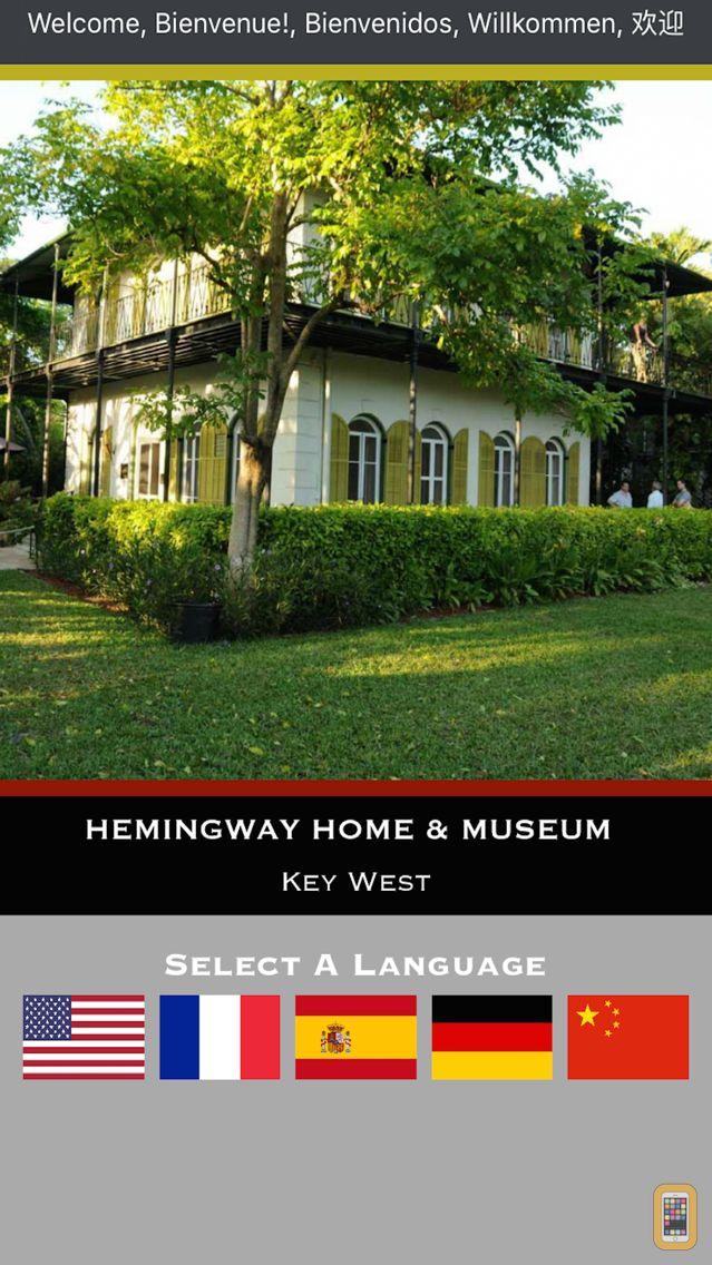 Screenshot - Hemingway Home App