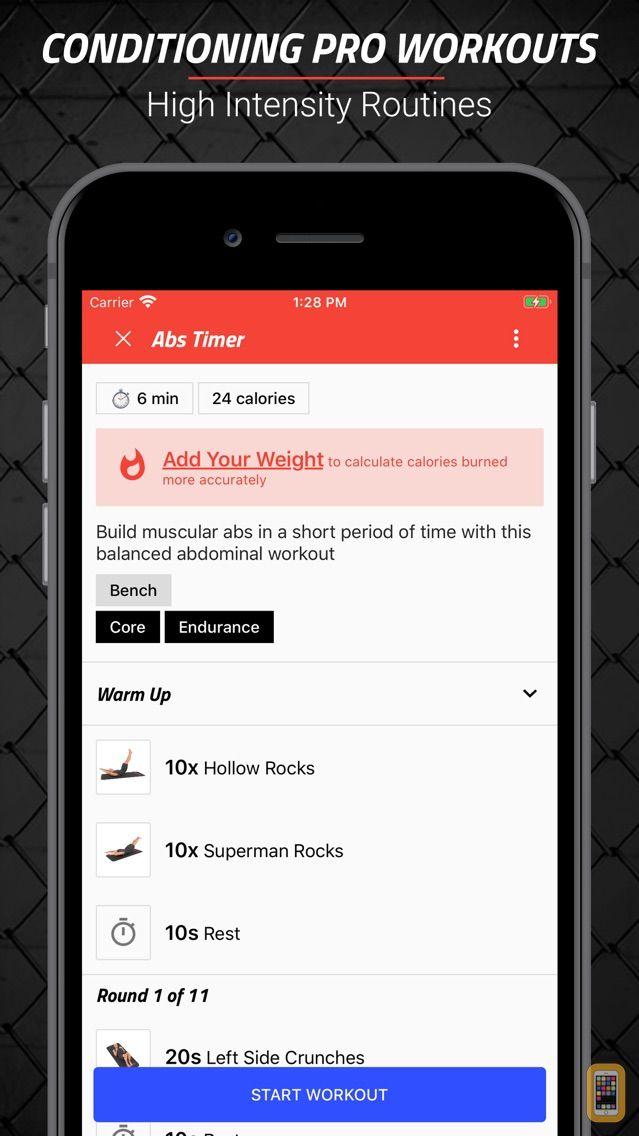 Screenshot - MMA Spartan Workouts Pro