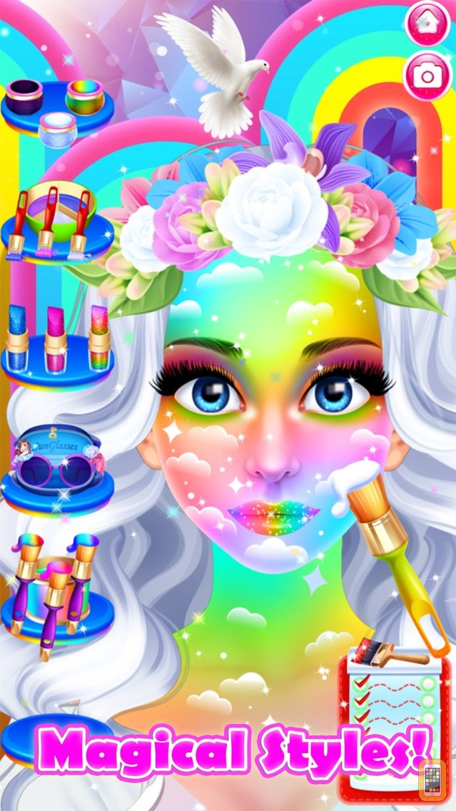 Screenshot - Face Paint Party Salon Games