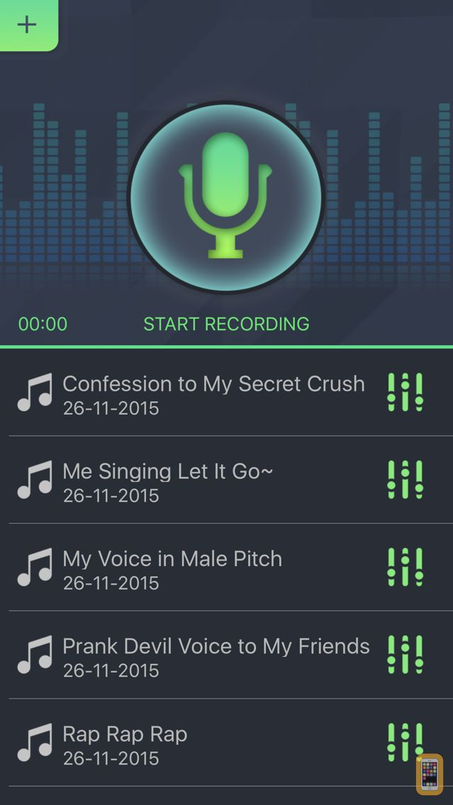 Screenshot - Simple Voice Changer - Sound Recorder Editor with Male Female Audio Effects for Singing