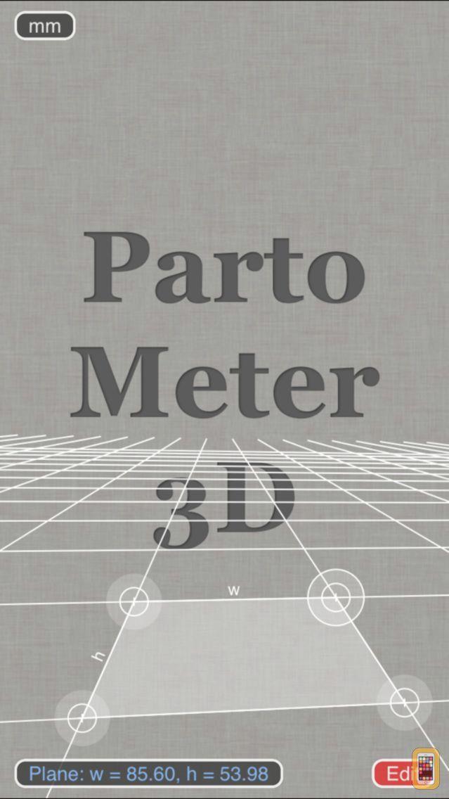 Screenshot - Partometer3D measure on photo