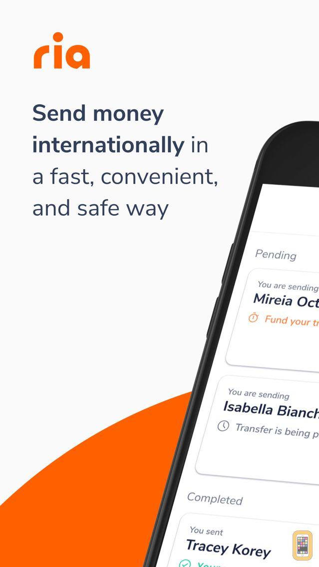 Ria Money Transfer For Iphone Ipad
