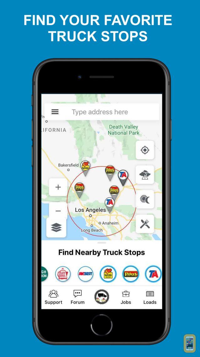 Screenshot - Truck Navigation - Road Hunter