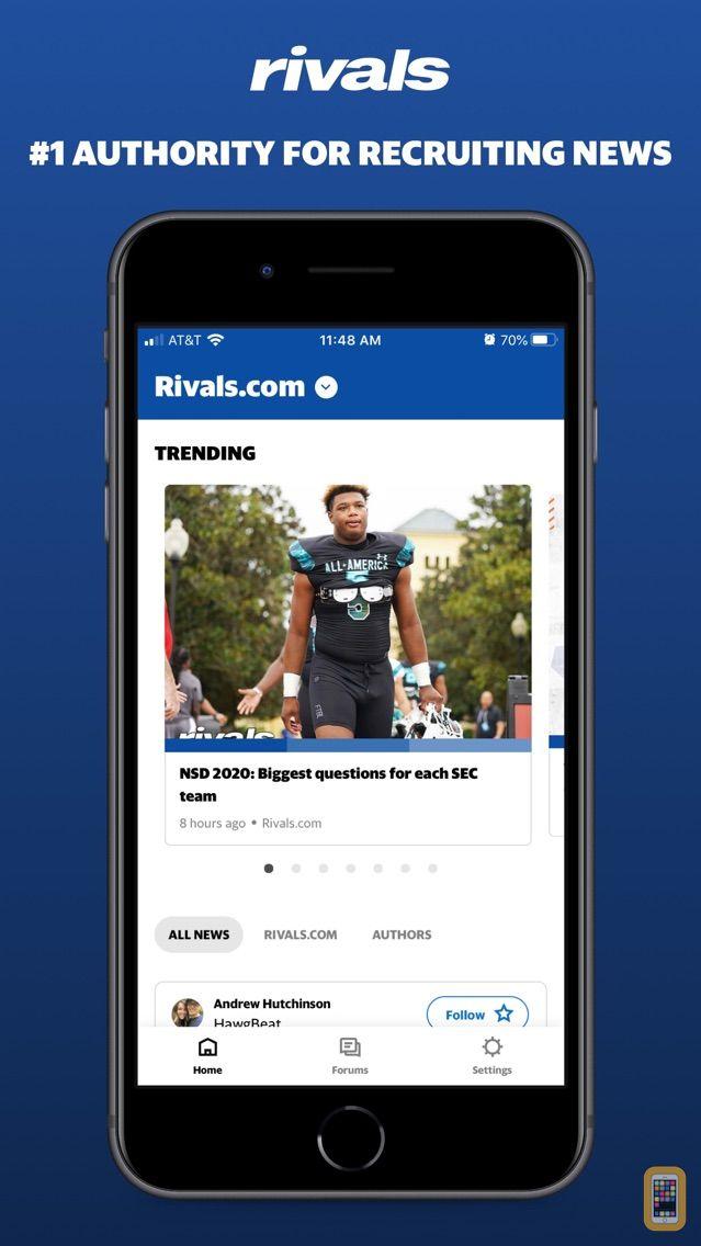 Screenshot - Rivals.com - No. 1 college sports recruiting news