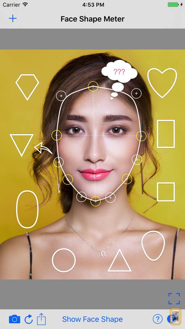Screenshot - Face Shape Meter ideal finder
