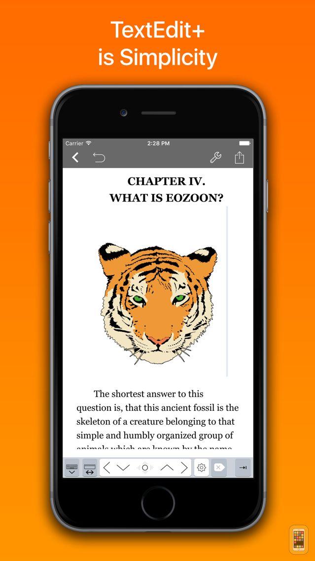 Screenshot - TextEdit+ for RTF, LaTeX, Md