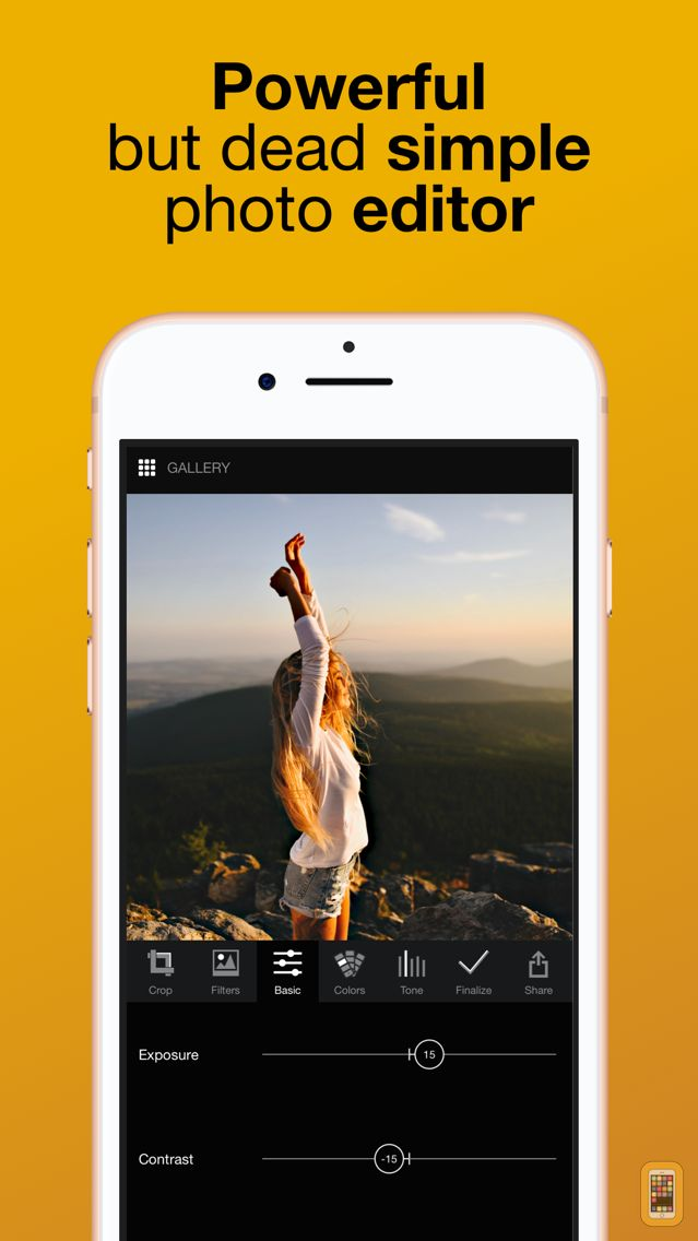 Screenshot - Lumibee - Fast Photo Editor